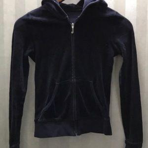 Juicy Couture Velour hoodie sweatshirt Xs